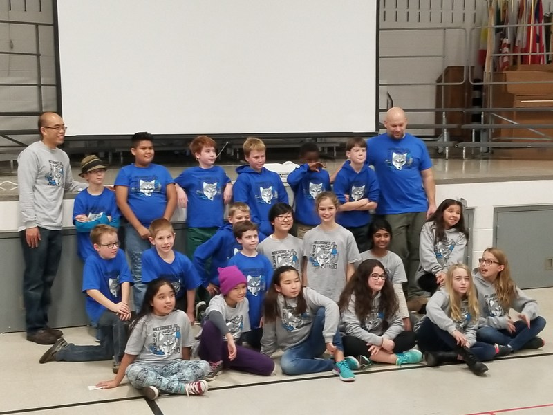District 75 Lego Robotics Teams