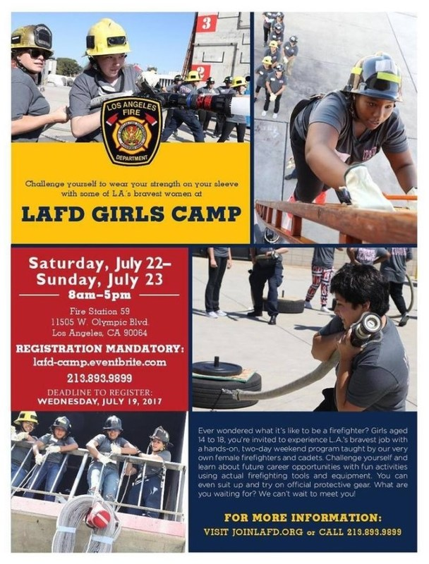 LAFD Girls Camp Featured Photo