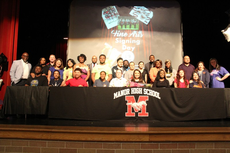 MHS Fine Arts Students Sign Letters of Intent to Colleges Thumbnail Image