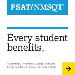 PSAT web banner ad