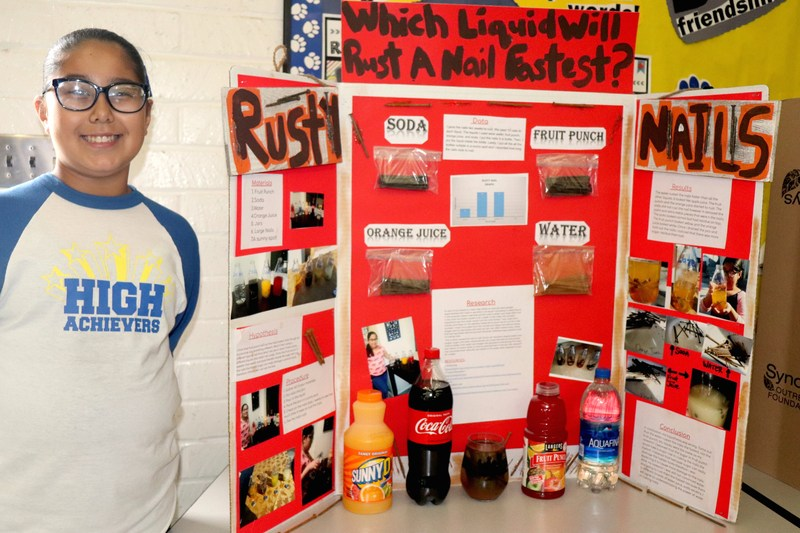 McKibben's High Achiever Program Participates in Science Fair Featured Photo