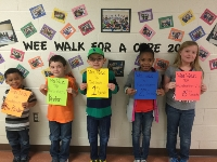 TOP FUND RAISERS FOR WEE WALK!  Featured Photo