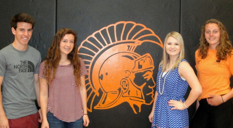 Four high school students earn Rotary student of the month honors.