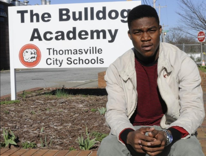 bulldog academy student