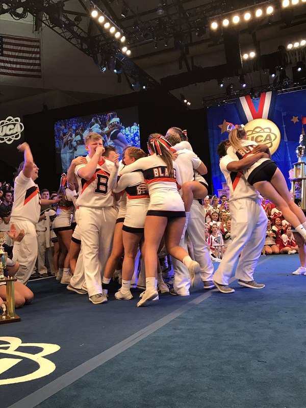 BHS Football Co-Ed Cheer Wins National Championship! Thumbnail Image