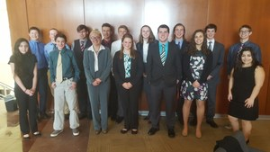 TKHS BPA students competed at regionals with nine students advancing to the state contest in Grand Rapids in March.