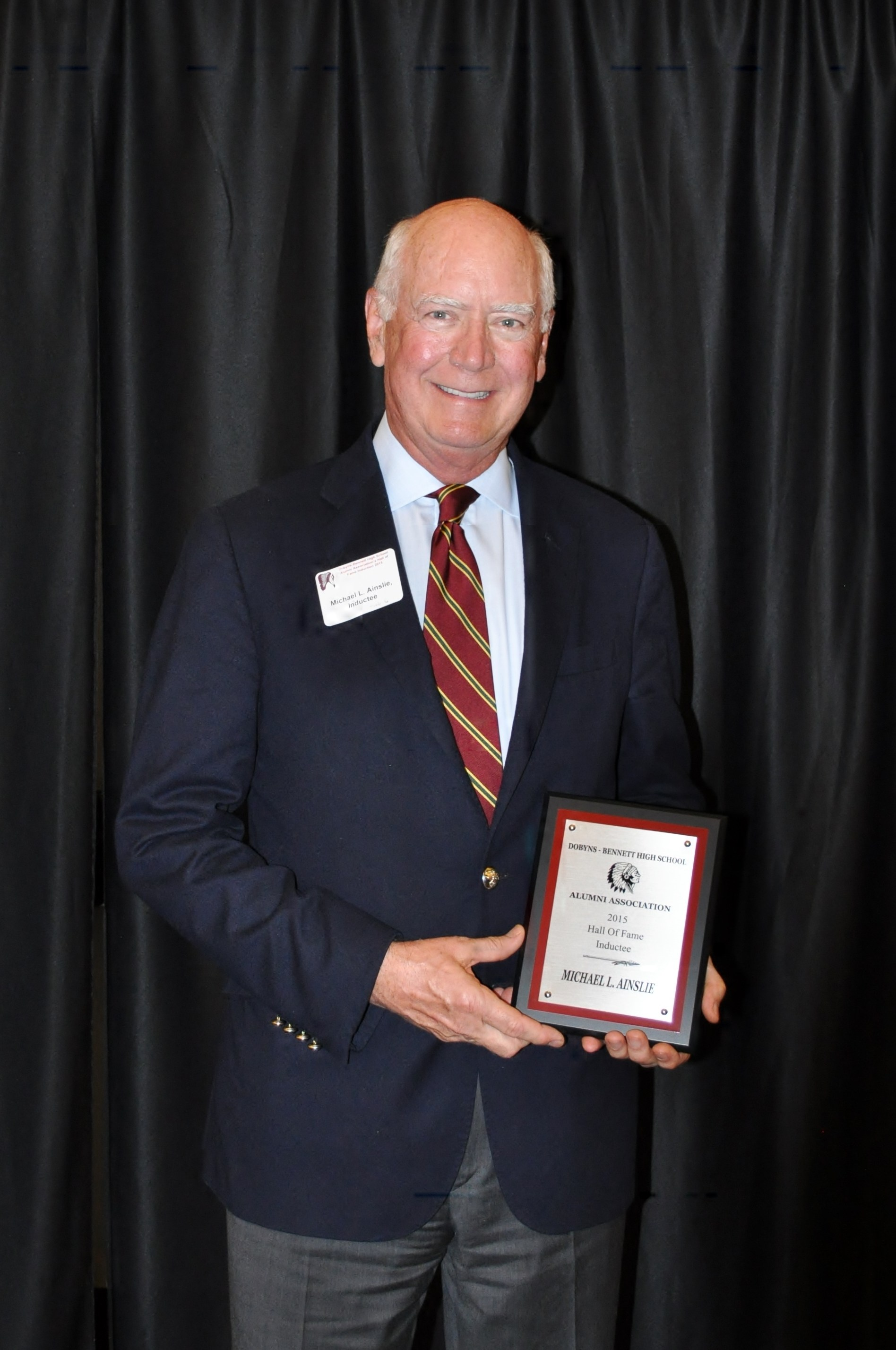 7th Annual Dobyns-Bennett Alumni Hall of Fame Inductee: Michael Ainslie – Class of 1961