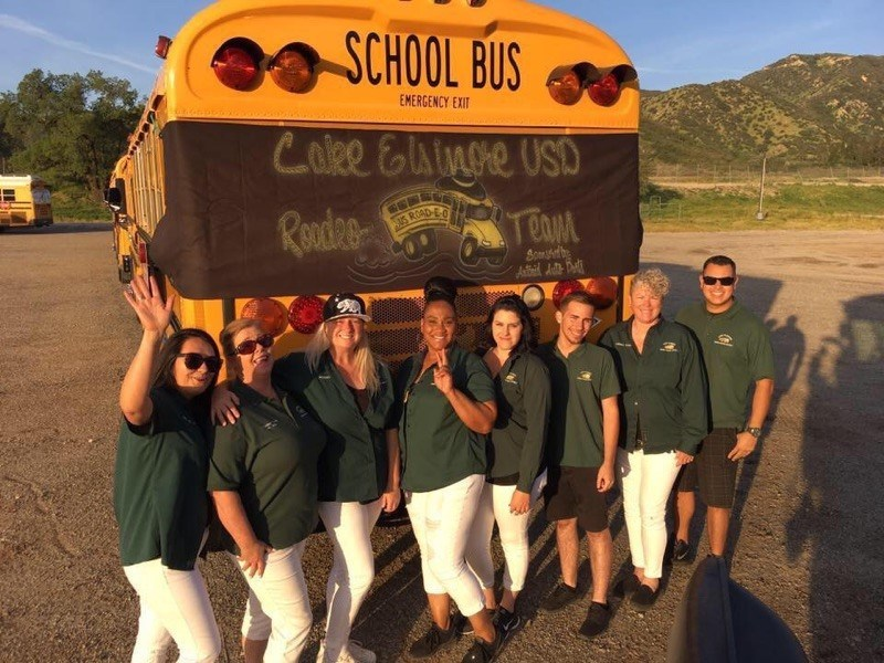 Devore chapter...our school bus driver competion group