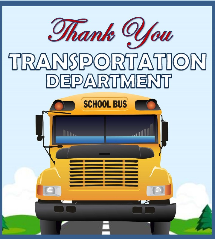Thank You - Transportation Department Featured Photo