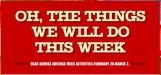 RAA Week