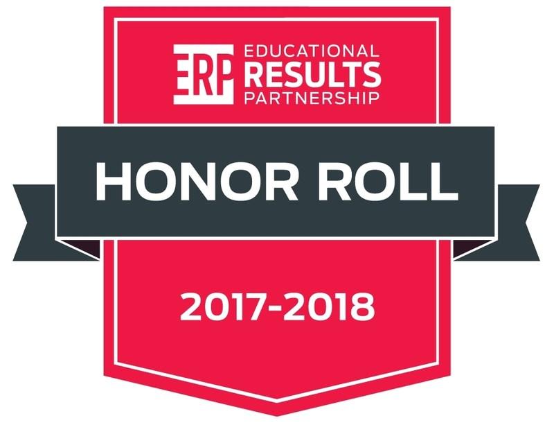 2017 - 2018 Educational Results Partnership (ERP) Honor Roll School Thumbnail Image