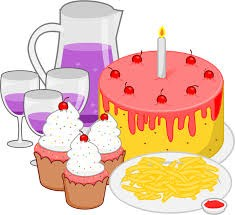cake, juice, cupcakes
