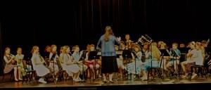 Gananda's 5th Grade Band at the Spring Concert 2018