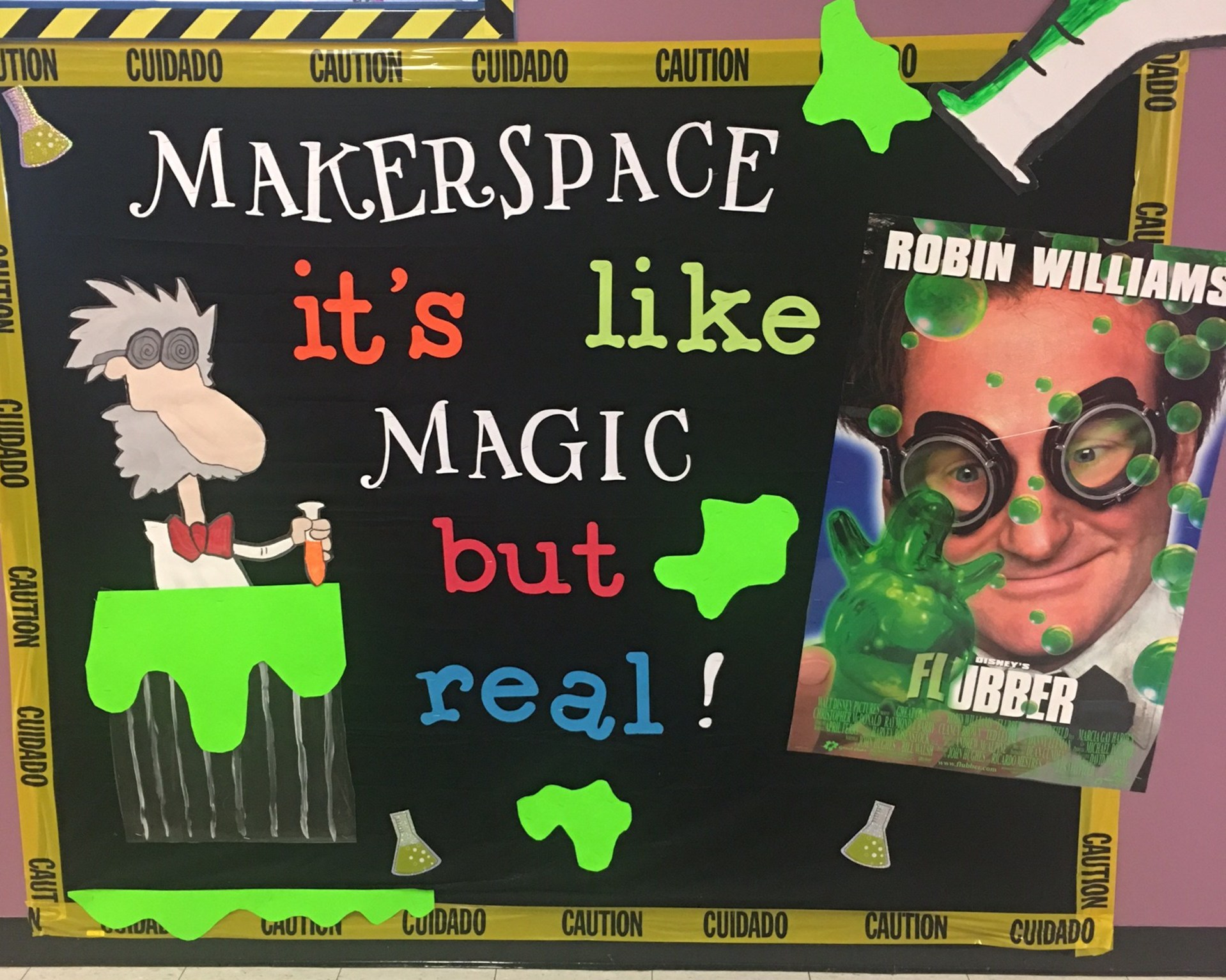 Makerspace is like magic, but it's real!