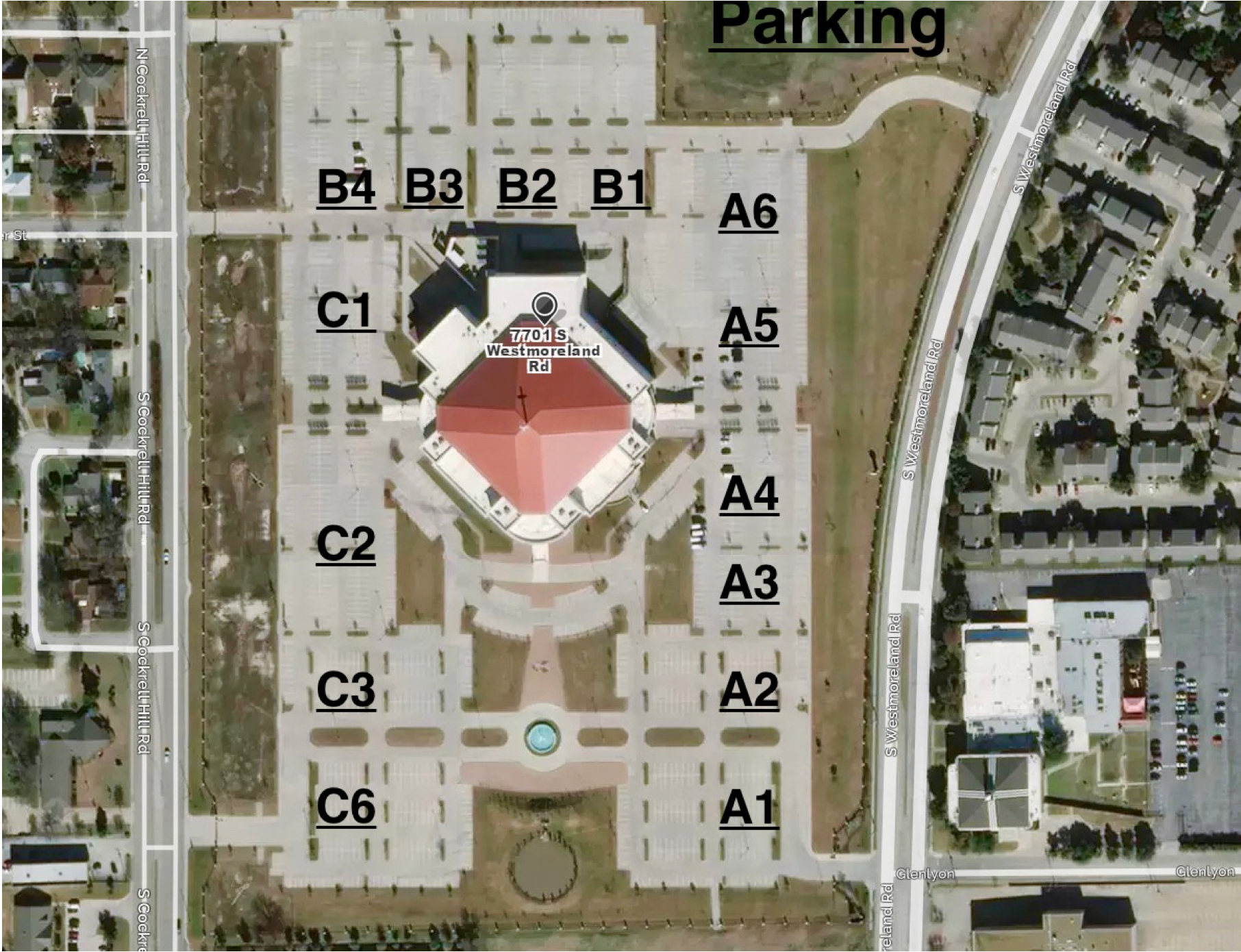 Parking Sections