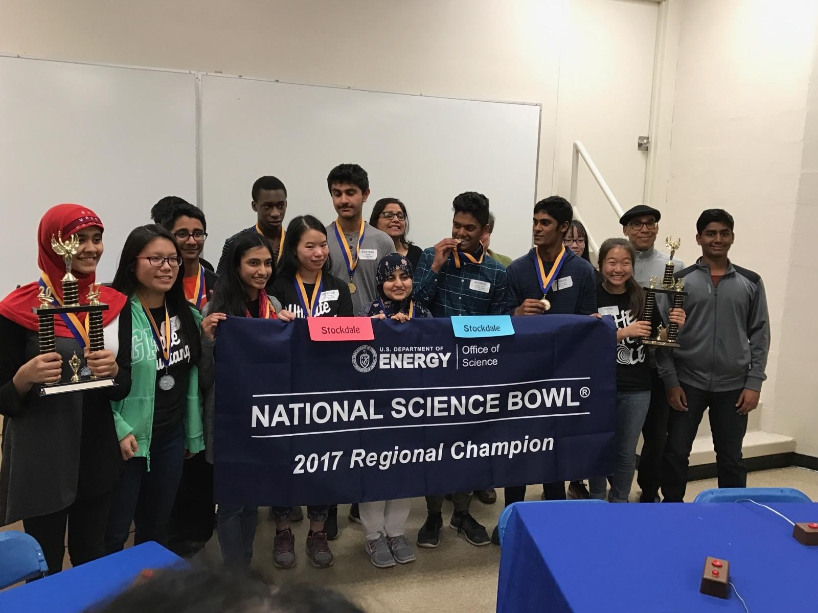 Science Bowl Winners 2017