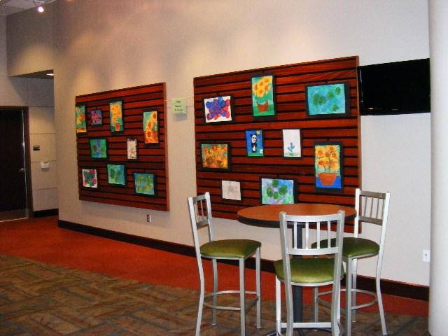 fine arts center display case