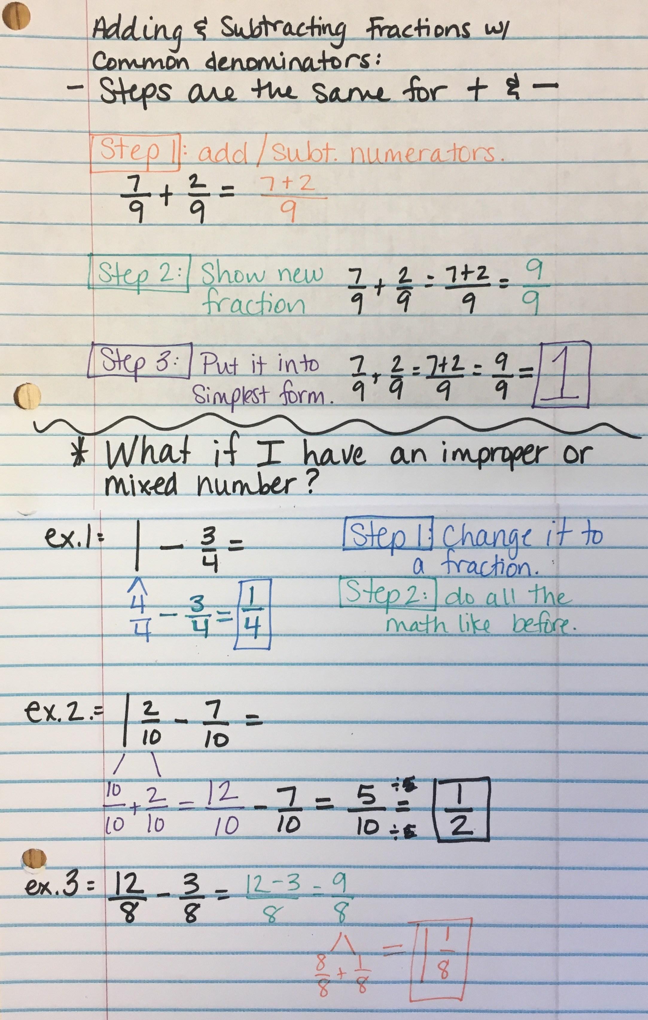 Fine Fraction Maths Worksheets Worksheet Adcedu Free Best Images ...