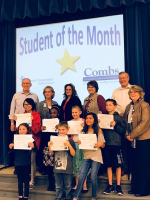 January 2018 Student of the Month Awardees