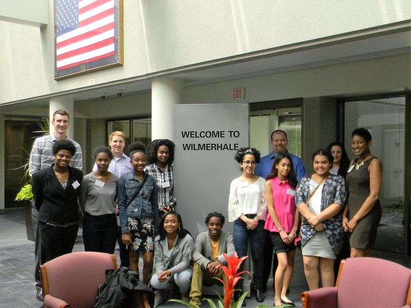 WilmerHale Hosts DECA Students for Job Shadow Thumbnail Image