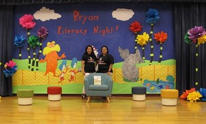 Librarians from Bryan School.