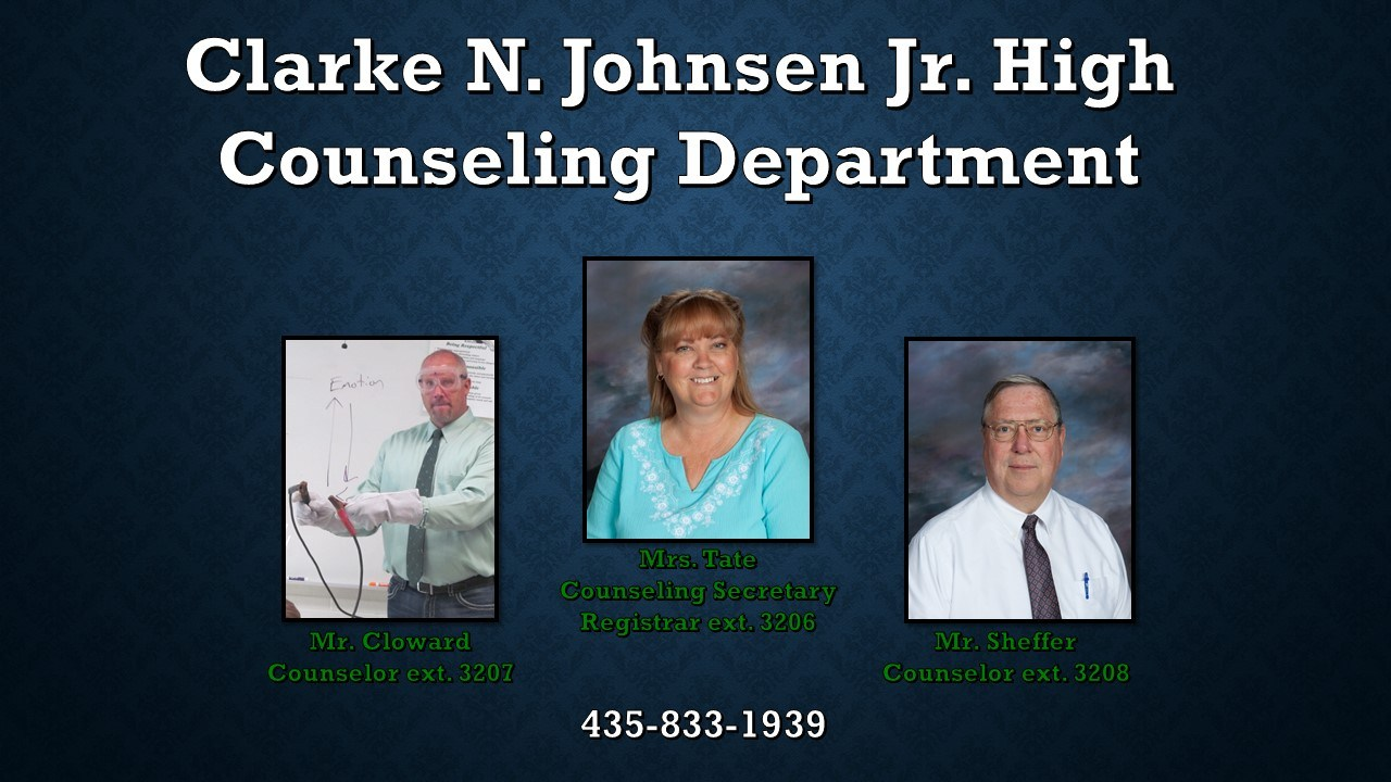 A photo of our counseling department.