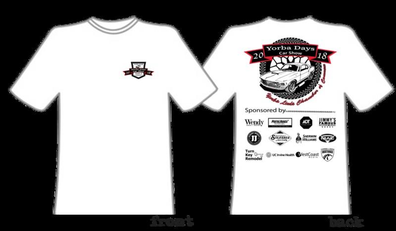 YLHS students design Yorba Linda Days Car Show shirt