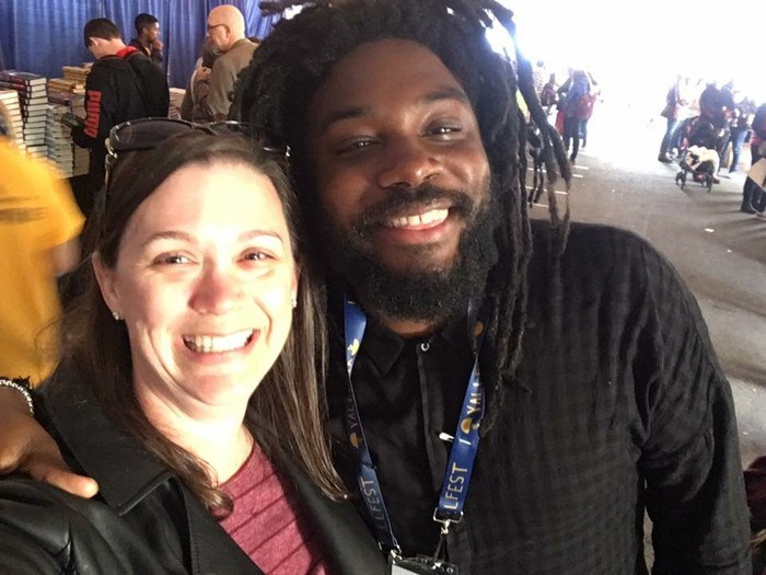 Ms. Near & Jason Reynolds (author)