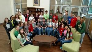 8th Grade UIL Participants