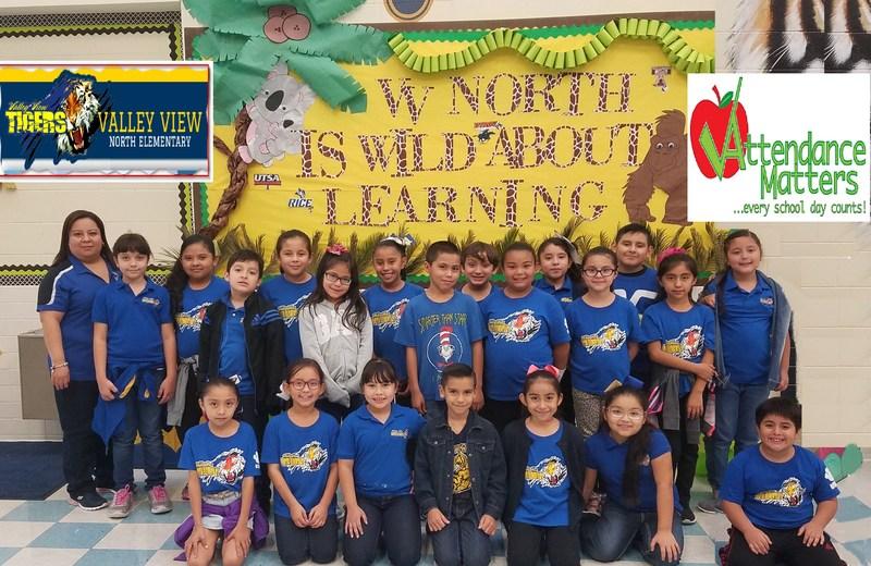 Kudos go to Mrs. Garza 3rd Grade class Perfect Attendance Winners! Thumbnail Image