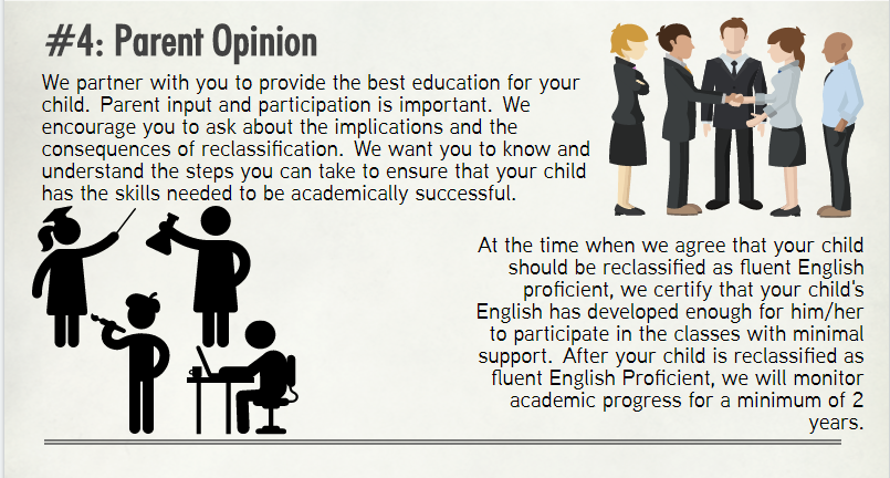 #4: Parent opinion and consultation