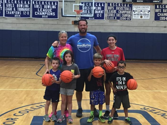 Children of Alumni Take Part in St. Dominic Co-ed Basketball Camp Featured Photo