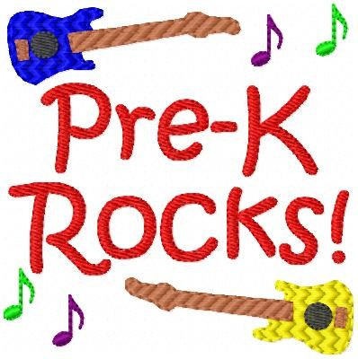 pre k rocks
