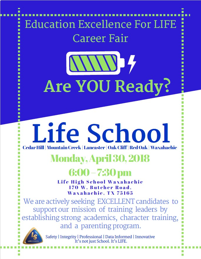 Education Excellence for Life Event Flyer
