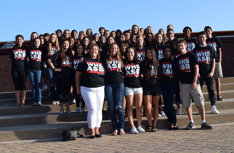 Associated Student body program at Westmont High School