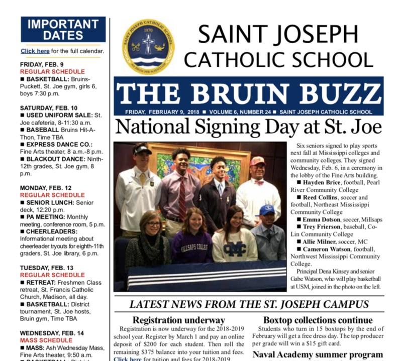 The Bruin Buzz: Friday, Feb. 9, 2018 Thumbnail Image
