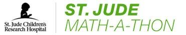 St. Jude Math a thon logo