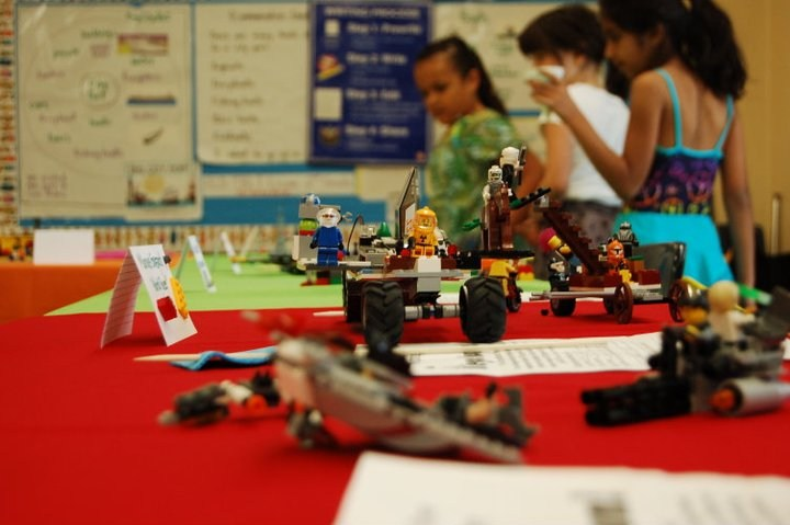 Lego museum at Spring Faire