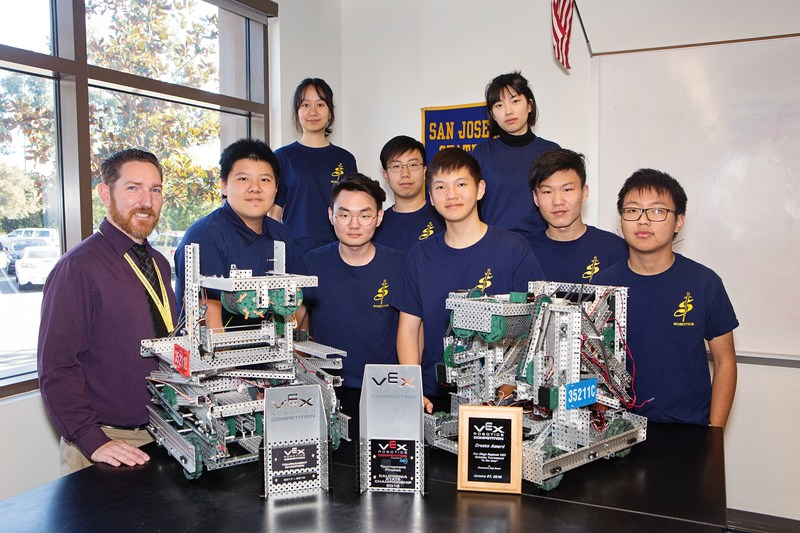 Robotics Team Takes 2nd at State Championships Featured Photo