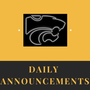 Link to daily announcements.