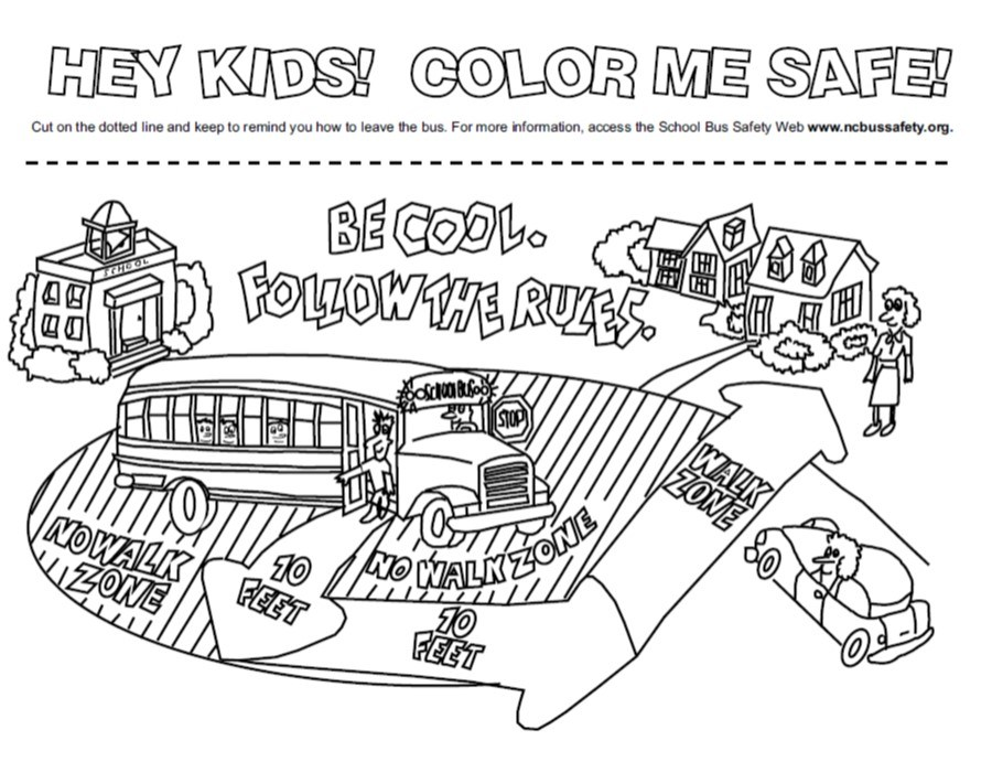 Danger Zone Coloring Page
