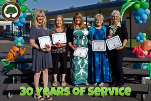 30 Years of Service Awards