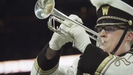 TKHS 2016 graduate Noah Miller plays with the WMU marching band and will be going to the Cotton Bowl along with TKHS classmate Heather Price.