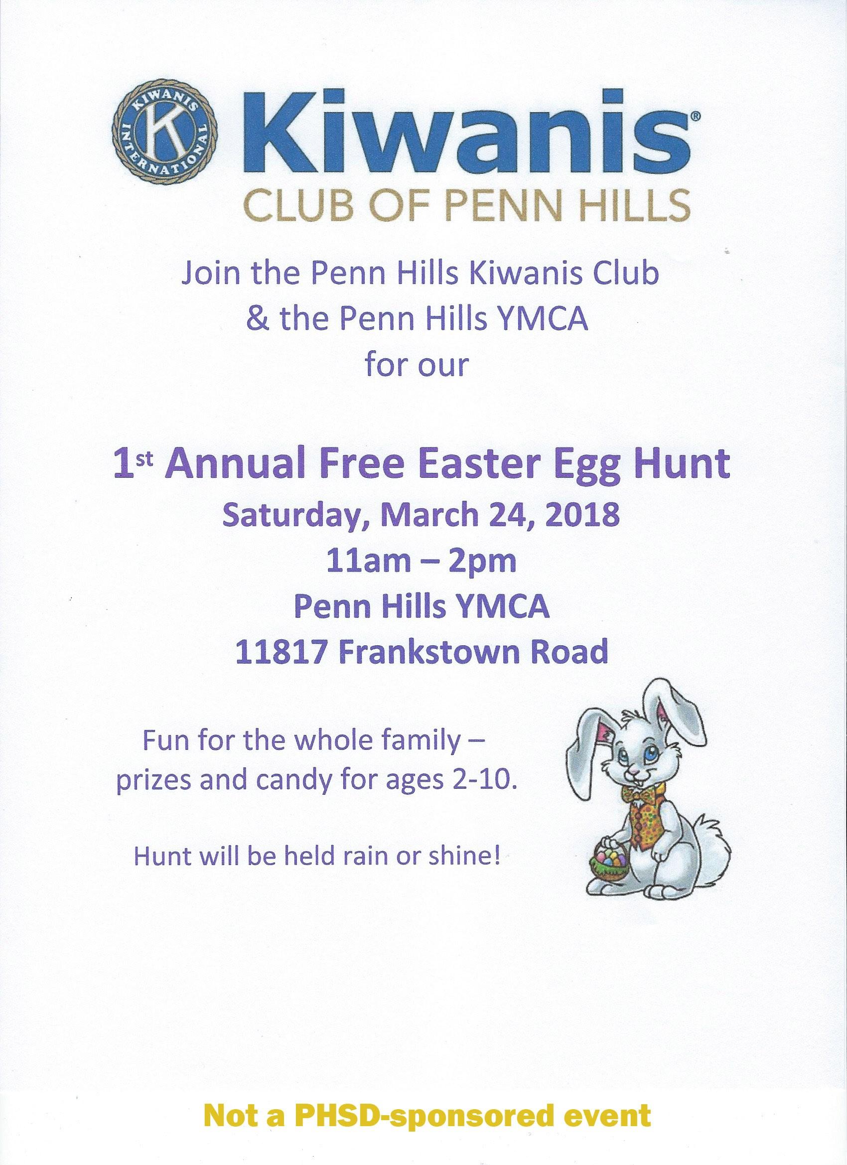 Penn hills school district kiwanis 1st annual easter egg hunt aiddatafo Gallery