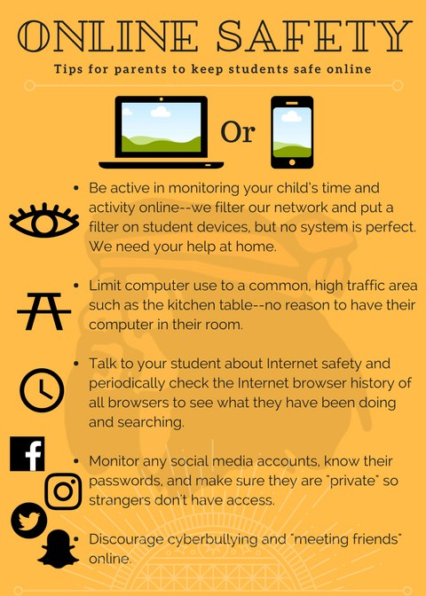 Wabash City Schools Internet Safety Rack Card
