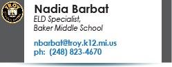 Nadia Barbat email