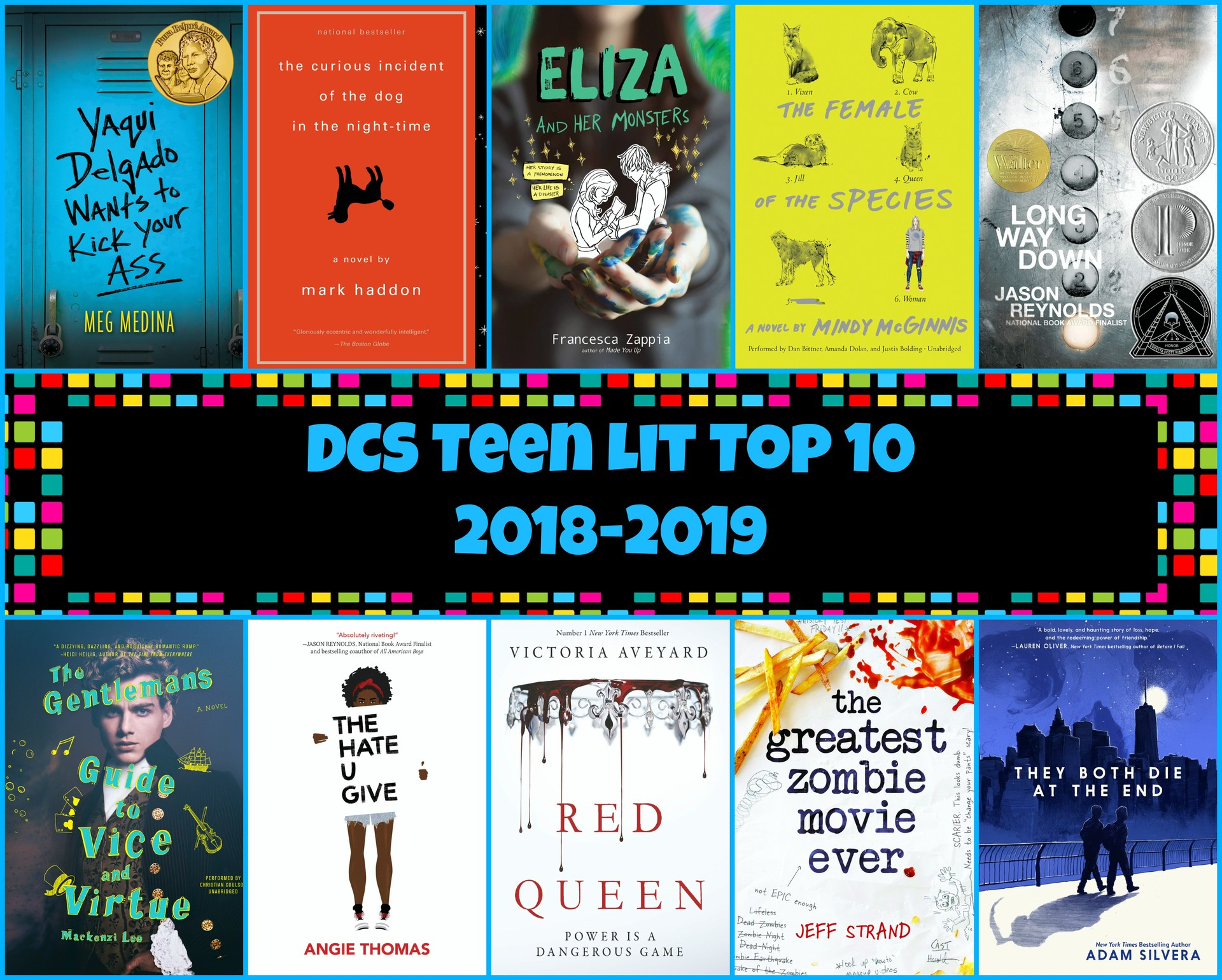 DCS Teen Lit Top 10.