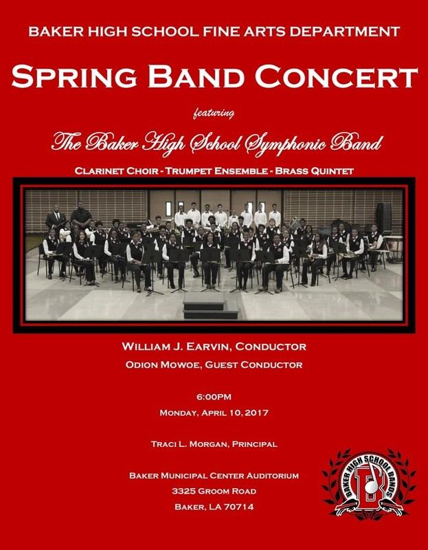 Spring Band Concert Thumbnail Image