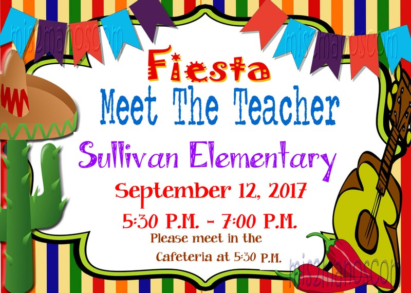 meet the teacher flyer