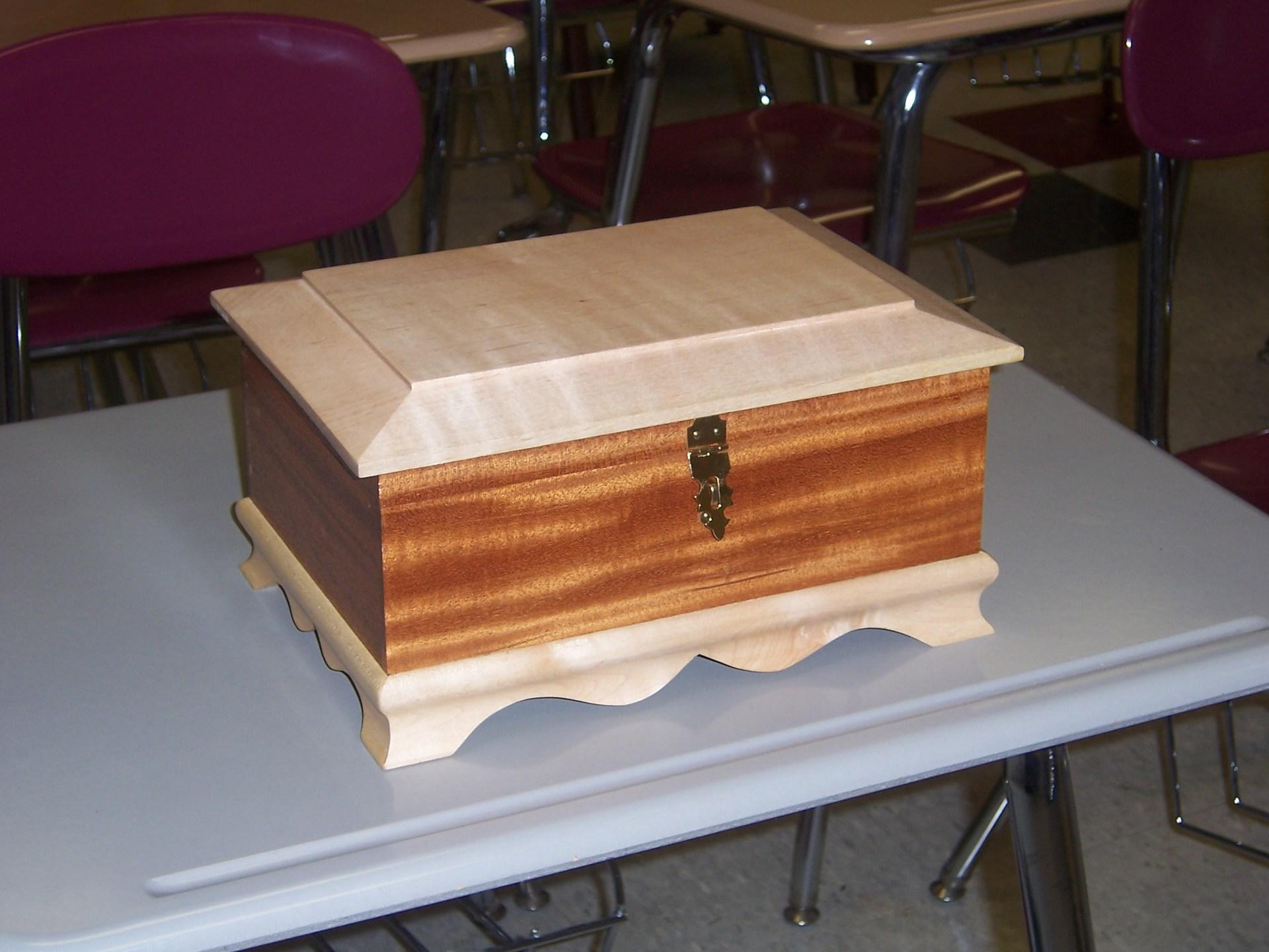 Jewelry Box-Wood Technology